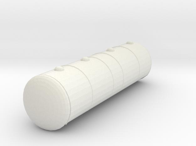 Kessel Kesselwagen Uacs Schweiz TT 1/120 1:120 in White Natural Versatile Plastic