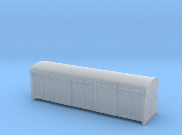 LMS / BR 6wheel Cell Truck body - 4mm scale 3d printed