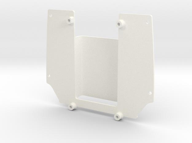 Superliner Body Mount in White Processed Versatile Plastic