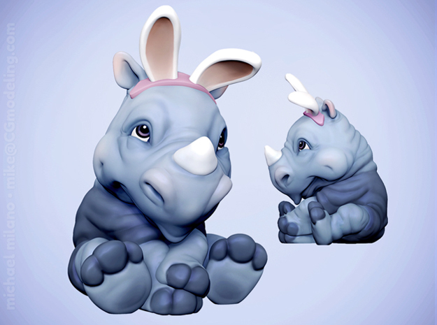 Rita the Rhino, Easter Edition