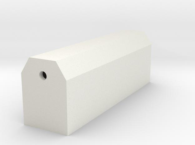 CustomPrintV6MiniOsprey in White Natural Versatile Plastic
