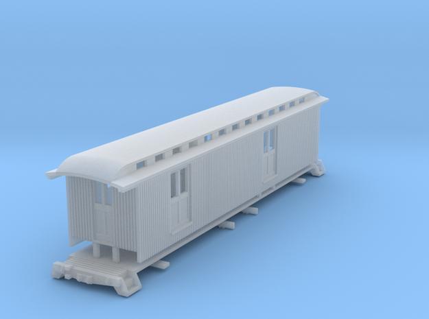 HOn30 40ft Baggage/Mail Car E 3d printed