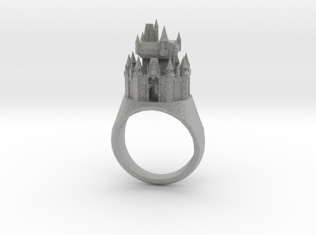 DW Cinderellas Castle Inspired Ring Size 9/S