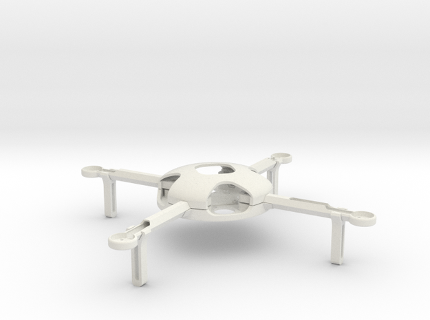 Quadcopter KIT (complete) in White Natural Versatile Plastic