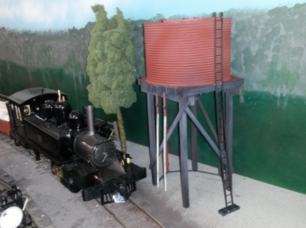 Victorian Railways 16mm scale Gould Water Tank