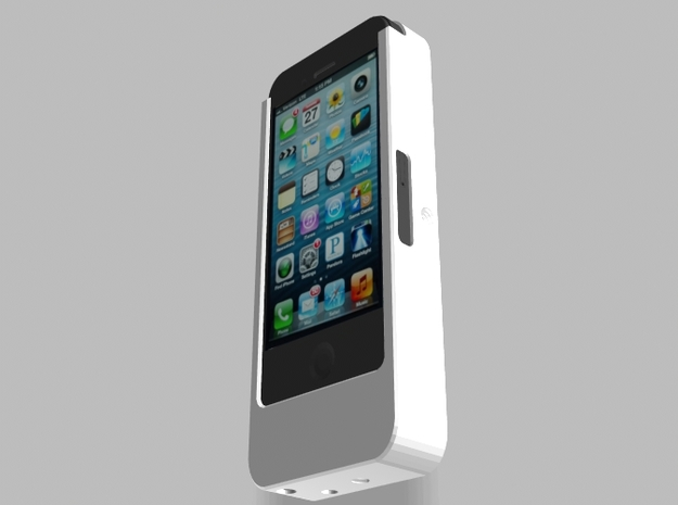 iPhone5 Camera Mount 5000mah Charger with USB Out 3d printed