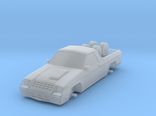 1/87 Scale Rammy Coupe Utility