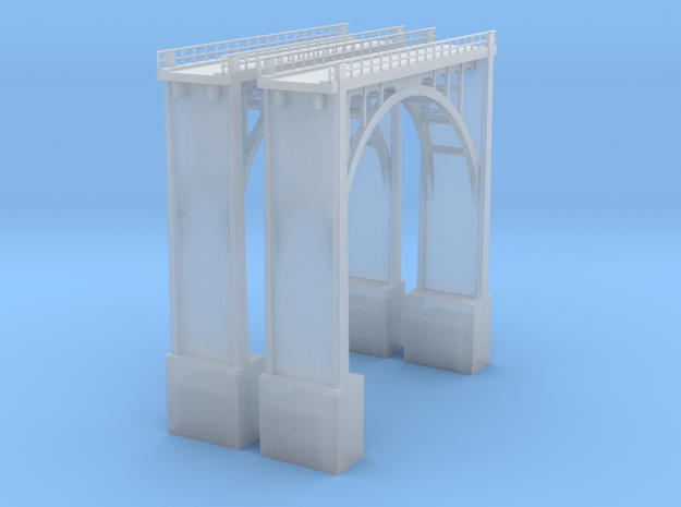 Arched Bridge 94' High 190ft 3d printed