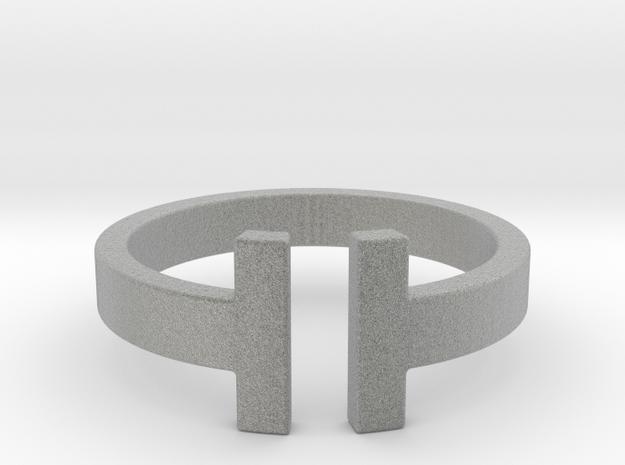 IT Ring in Metallic Plastic
