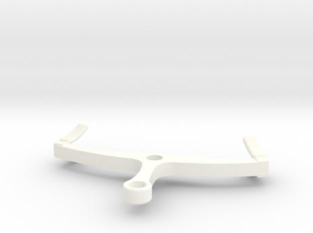 ZE/GTW wisselsteller 1:17 in White Processed Versatile Plastic