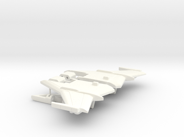 Chic-Capitan Wings in White Processed Versatile Plastic