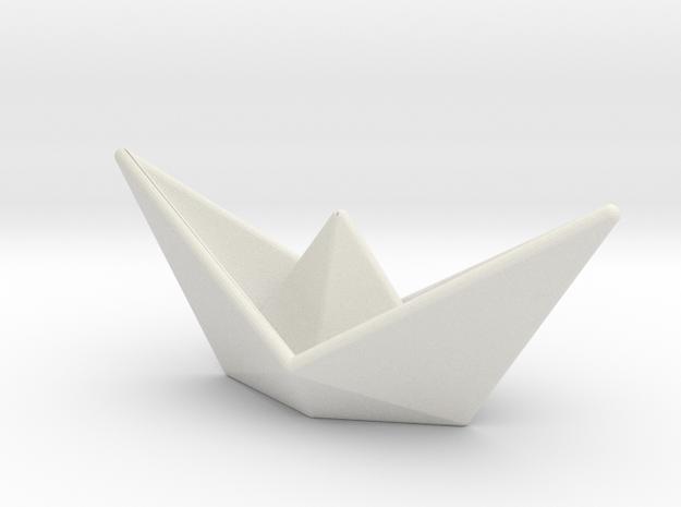 Ship in White Strong & Flexible
