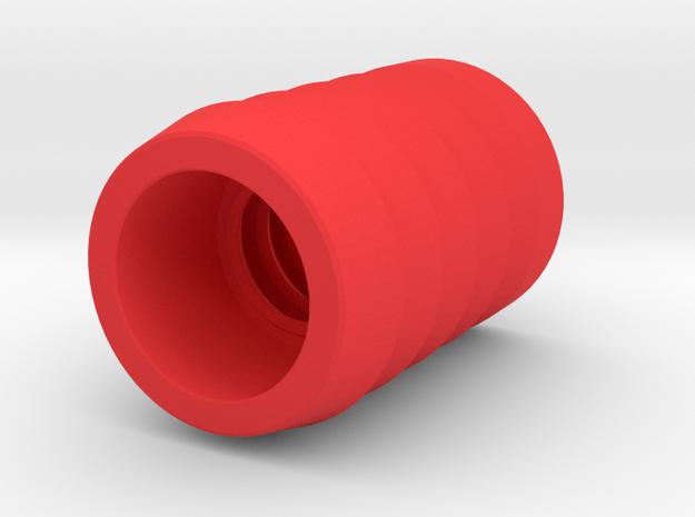 """Ladder golf"" bola ferrule in Red Processed Versatile Plastic"