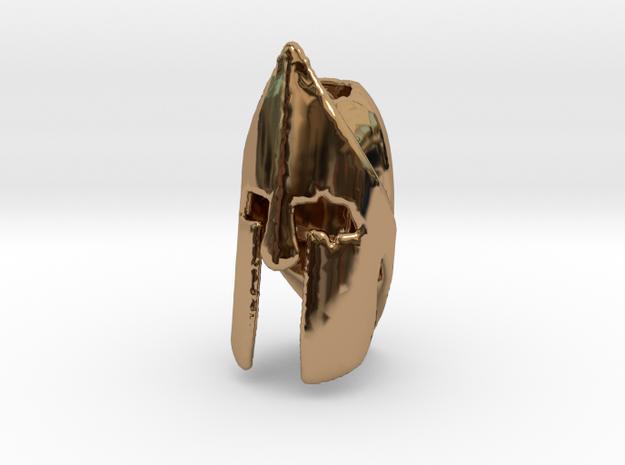 Type II Spartan Helmet in Polished Brass
