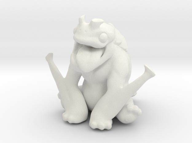 Kaiju Orichi in White Strong & Flexible