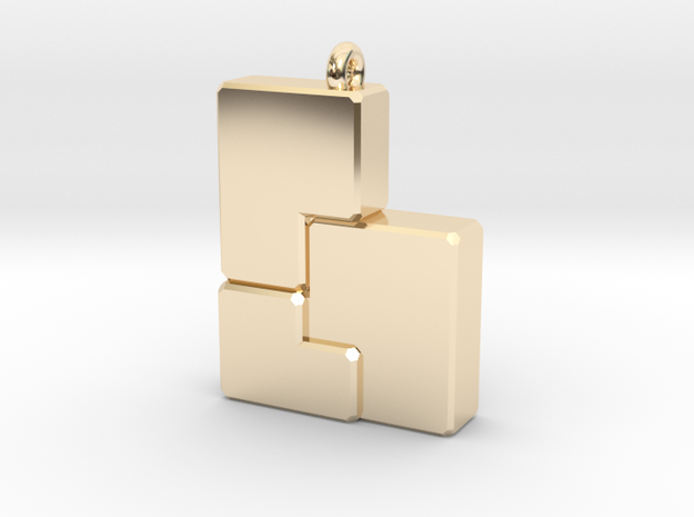 Golden b(ee) in 14k Gold Plated