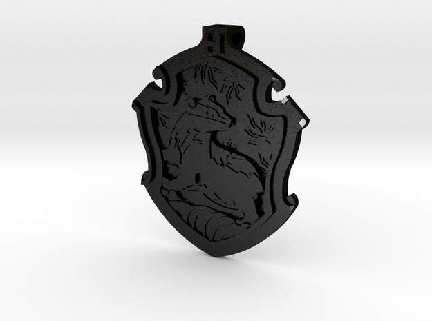 Hufflepuff House Crest - Pendant SMALL