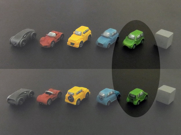 Miniature cars, Mini-car model (8pcs)