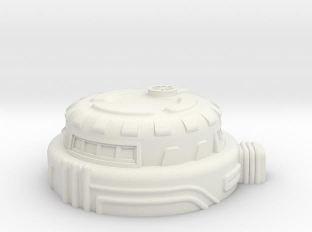 Command Bunker in White Natural Versatile Plastic