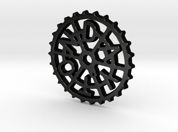 DaytonGear Pin in Matte Black Steel