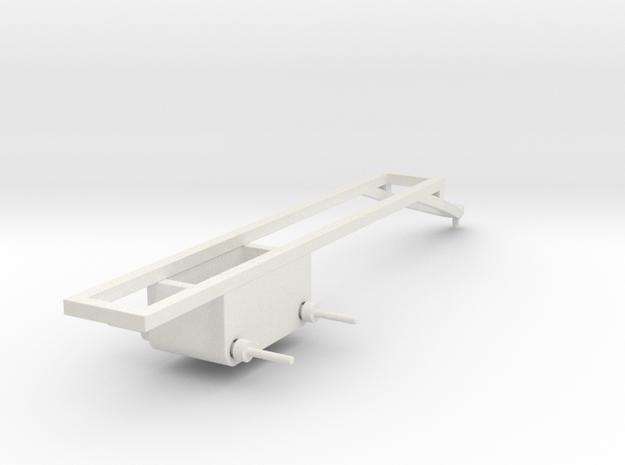 1/64 Pull type frame- long in White Natural Versatile Plastic