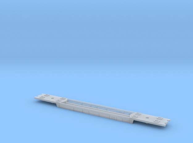 RailJet Wagenboden v1 TT 1:120  in Smooth Fine Detail Plastic