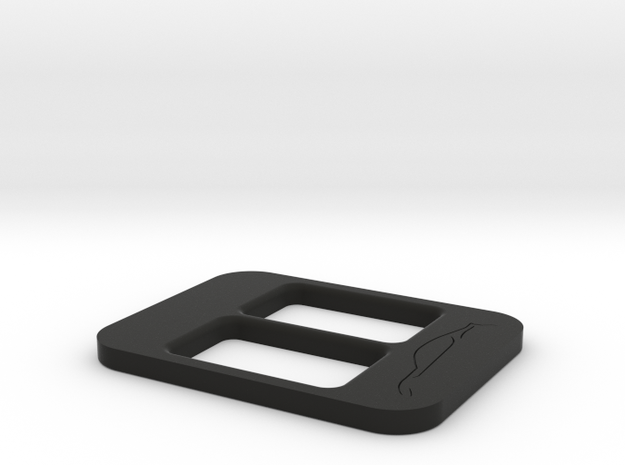 BRZ Limited Console Plate Style 003 in Black Strong & Flexible