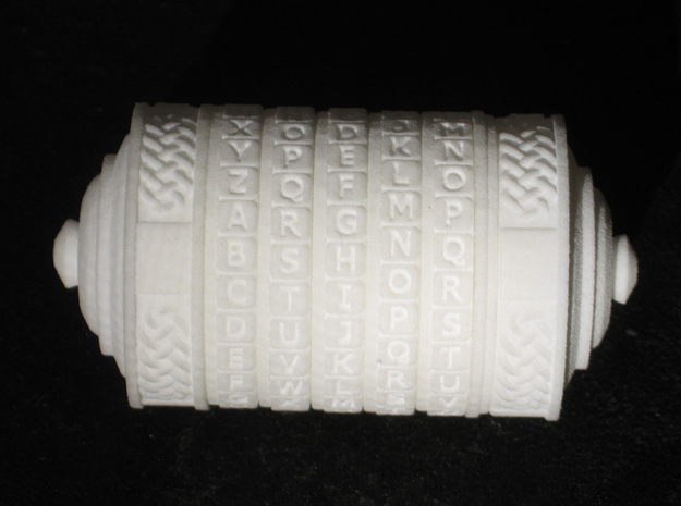 cryptex02 3d printed