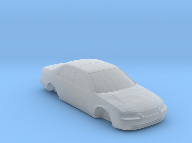 n scale 1997-2001 toyota camry in Smooth Fine Detail Plastic