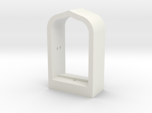Arabian Window Frame in White Strong & Flexible
