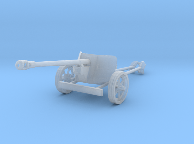 1/160 n-scale Pak40 german anti tank gun WW2