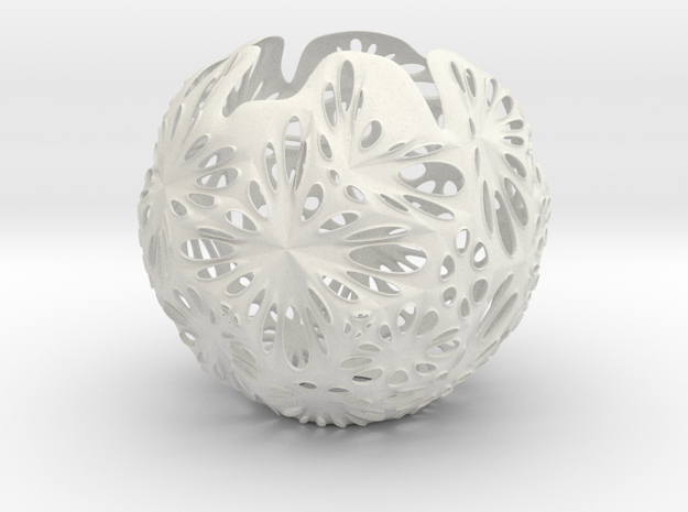 Snowflower Votive Candle Holder / Hang Light  3d printed