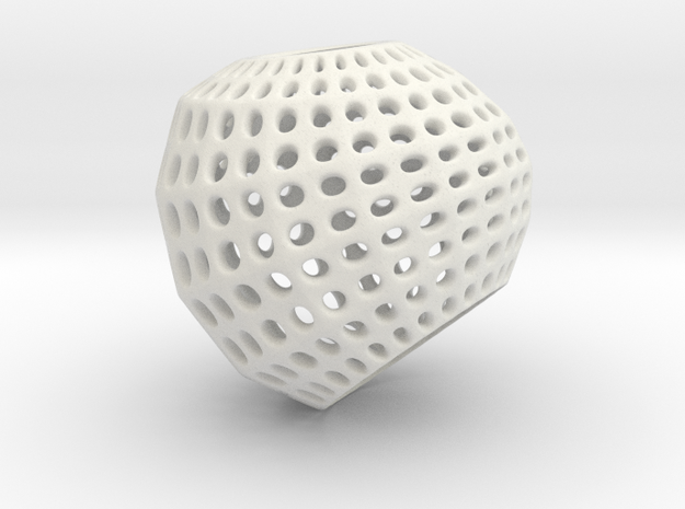 Inverted Golf Ball Pendant Light 3d printed