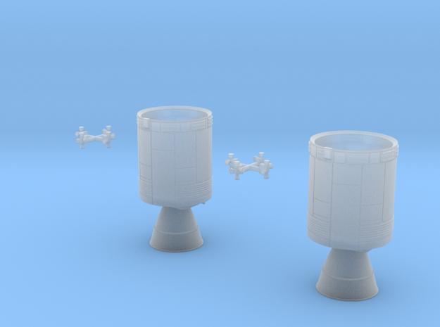 Apollo Service Modules, Block II 1/200 scale 3d printed