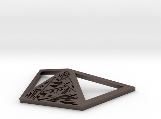 RECUSIVE in Polished Bronzed Silver Steel
