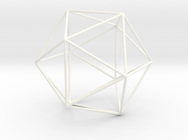 Ycocedron Planus Vacuus in White Processed Versatile Plastic
