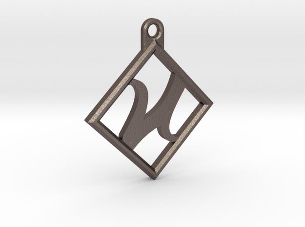 Kettenanhänger - Logo in Stainless Steel