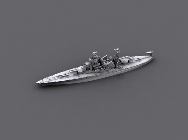 1/1800 US BB46 Maryland [1941] in White Strong & Flexible