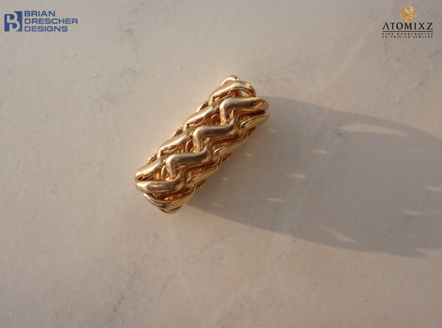 Tubulos 2015 - 30mm in Natural Bronze