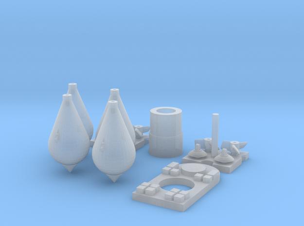 1/32 Carbonit 20kg Kit (4 off) in Smoothest Fine Detail Plastic