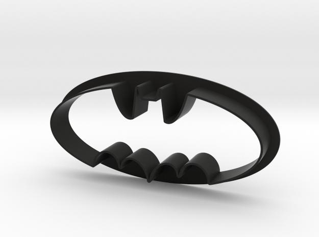 Batman Cookie Cutter in Black Strong & Flexible