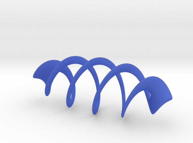 Mesh Torus - 5 crossings 3d printed