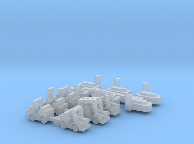 6 Münzautomaten - 1:220 (Z scale) 3d printed