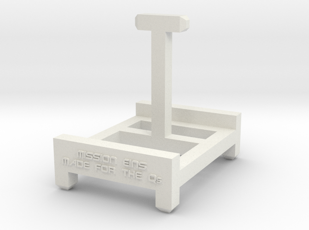 Stand for the Qs in White Natural Versatile Plastic