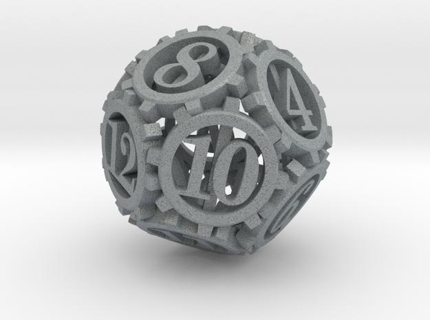 Steampunk Gear d12 3d printed