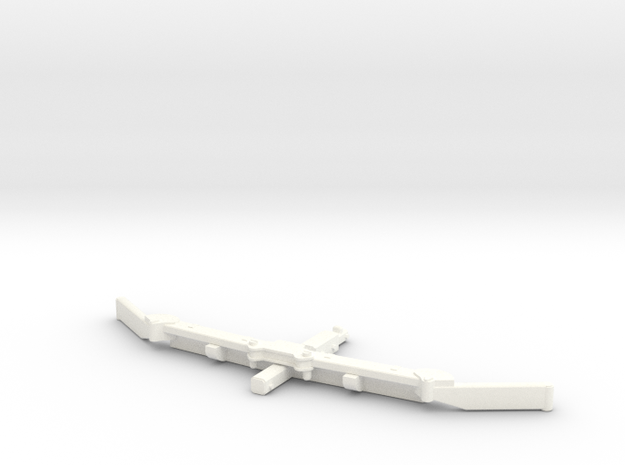 1/64 Alley scraper Blade 8' in White Strong & Flexible Polished