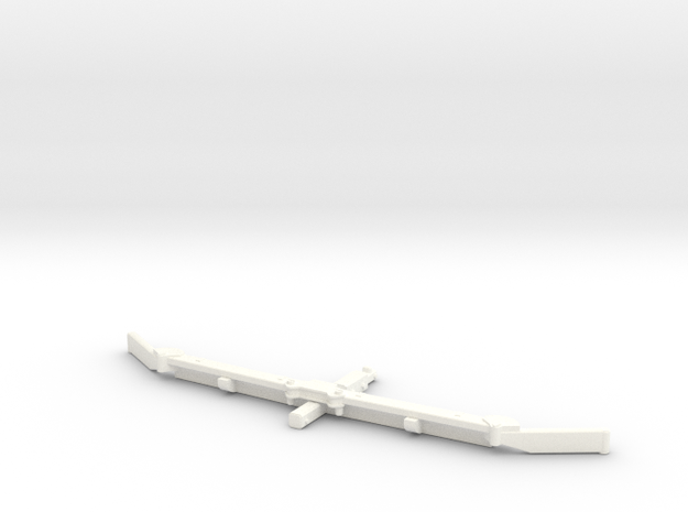 1/64 Alley scraper Blade 10' in White Strong & Flexible Polished