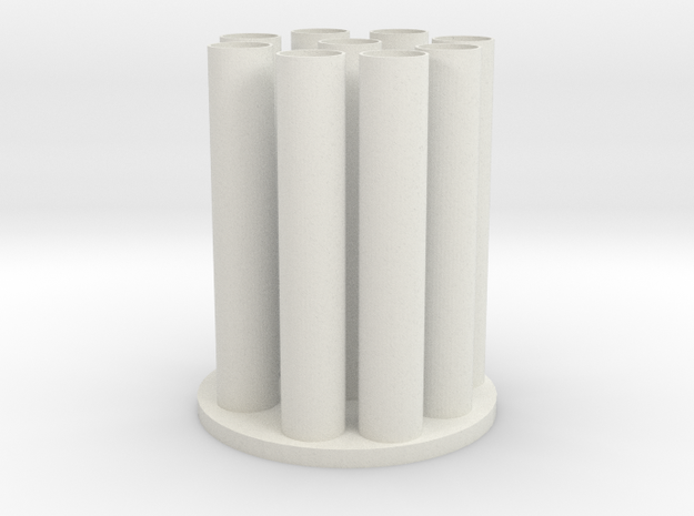 Vase 14 in White Strong & Flexible