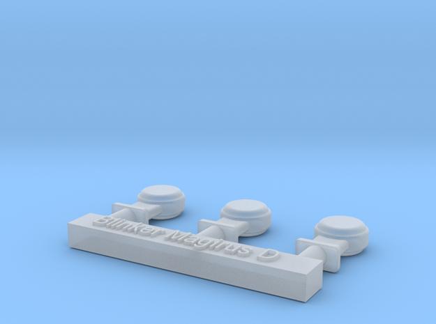 Blinker für Magirus D Fahrerhäuser 3x in Smooth Fine Detail Plastic