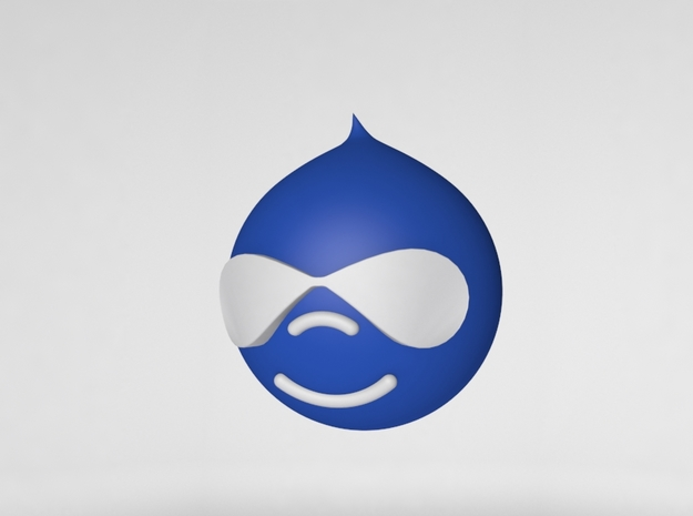 Drupal  in White Strong & Flexible